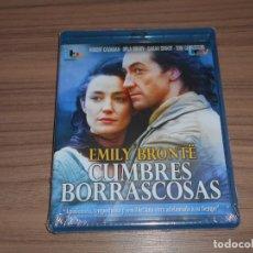 Cine: CUMBRES BORRASCOSAS BLU-RAY DISC NUEVO PRECINTADO. Lote 262361590