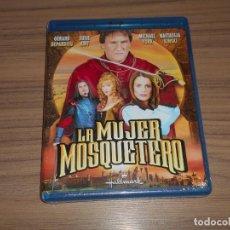 Cine: LA MUJER MOSQUETERO BLU-RAY DISC GERARD DEPARDIEU MICHAEL YORK NASTASSJA KINSKI NUEVO PRECINTADO. Lote 262362105