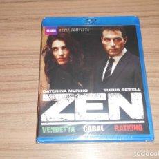 Cine: ZEN SERIE COMPLETA BLU-RAY DISC 270 MIN. NUEVO PRECINTADO. Lote 262362530
