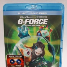 Cine: BRS80 G-FORCE LICENCIA PARA ESPIAR BLURAY SEGUNDA MANO. Lote 262382260