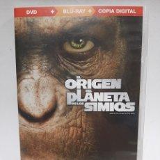 Cine: BRS80 EL ORIGEN DEL PLANETA DE LOS SIMIOS BLURAY SEGUNDA MANO. Lote 262384975