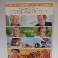 Cine: BRS80 EL EXÓTICO HOTEL MARIGOLD BLURAY SEGUNDA MANO. Lote 262385235