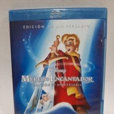 Cinema: BRS82 MERLIN EL ENCANTADOR BLURAY SEGUNDA MANO. Lote 262394075