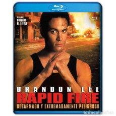 Cine: RAPID FIRE BRANDON LEE BLURAY. Lote 262881560