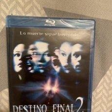 Cine: DESTINO FINAL 2 BLURAY PRECINTADO. Lote 263209080