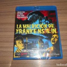 Cine: LA MALDICION DE FRANKENSTEIN BLU-RAY DISC PETER CUSHING CHRISTOPHER LEE NUEVO PRECINTADO. Lote 263747045