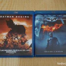 Cine: BATMAN BEGINS Y EL CABALLERO OSCURO.BLU-RAY.. Lote 263964145