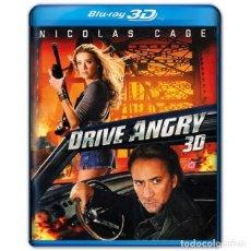 Cinéma: DRIVE ANGRY FURIA CIEGA BLURAY 3D. Lote 264744009