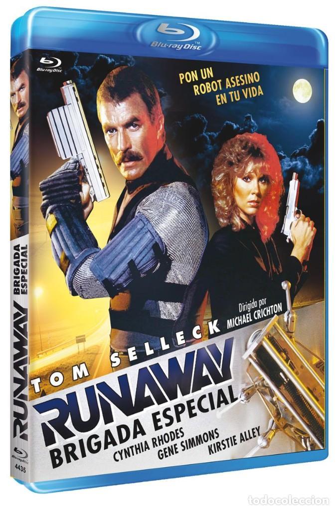 RUNAWAY, BRIGADA ESPECIAL (TOM SELLECK, CYNTHIA RHODES) - BLURAY NUEVO Y PRECINTADO (Cine - Películas - Blu-Ray Disc)