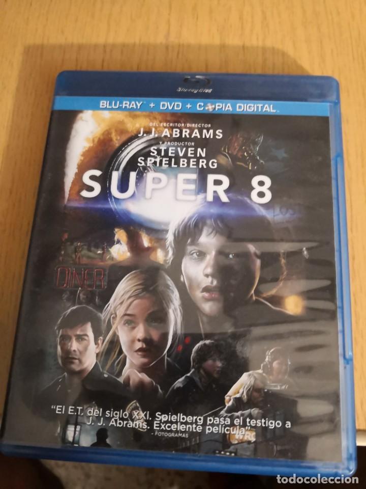 PELÍCULA SUPER 8 BLU-RAY + DVD (Cine - Películas - Blu-Ray Disc)
