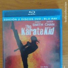 Cine: BLU-RAY + DVD THE KARATE KID - 2 DISCOS - JADEN SMITH, JACKIE CHAN (DK). Lote 267600849