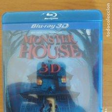 Cine: BLU-RAY MONSTER HOUSE EN 3D (DJ). Lote 267643519