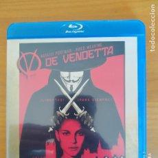 Cine: BLU-RAY V DE VENDETTA - NATALIE PORTMAN, HUGO WEAVING (DO). Lote 267647924