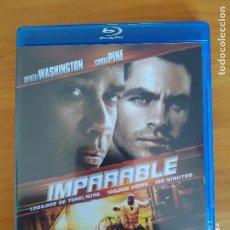 Cinéma: BLU-RAY IMPARABLE - DENZEL WASHINGTON, CHRIS PINE - COMO NUEVO (DR). Lote 267720459