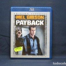 Cinema: PAYBACK - BLU RAY. Lote 267800479