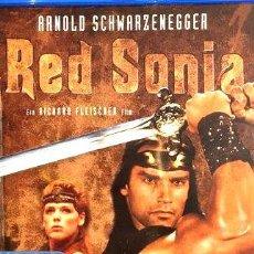 Cine: GERRERO ROJO ARNOLD SCHWARZENEGGER BLU RAY ZONA B ALEMAN. Lote 268496354