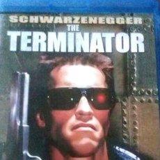 Cine: ARNOLD SCHWARZENEGGER THE TERMINATOR BLU RAY. Lote 268549594