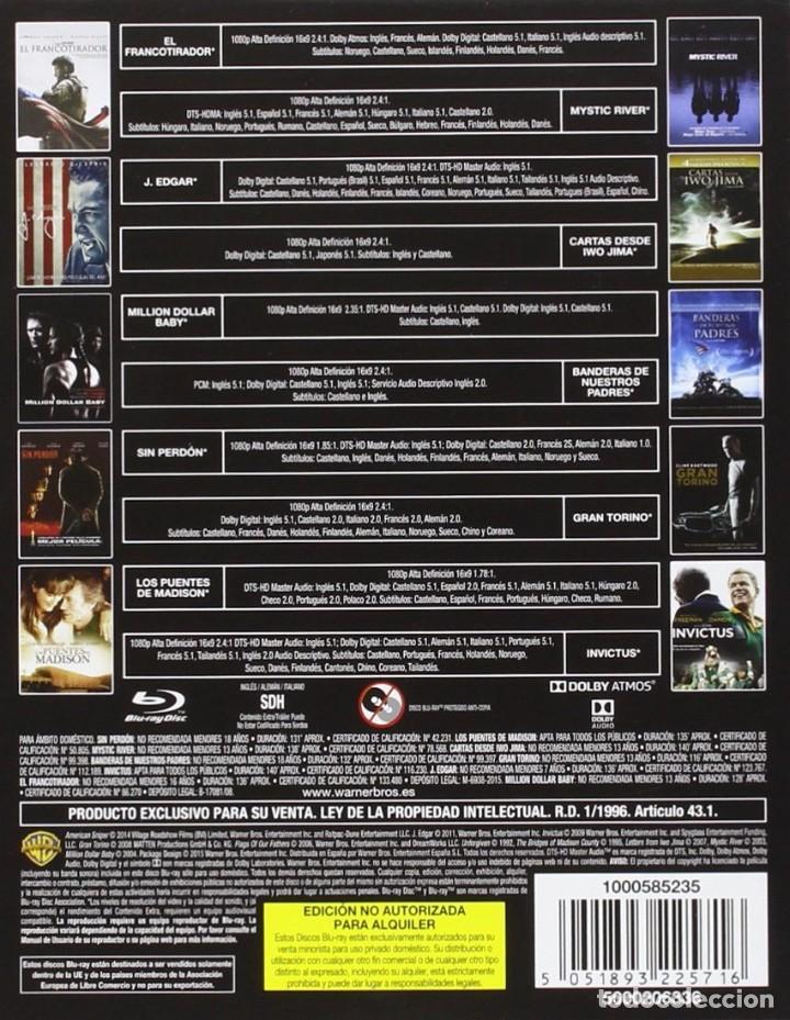 Cine: !!! CLINT EASTWOOD - COLECCION 10 DVD !!! COMO NUEVO EN BLURAY *** - Foto 2 - 268619769