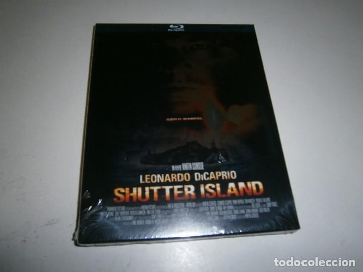 SHUTTER ISLAND BLU RAY NUEVO PRECINTADO LEONARDO DICAPRIO (Cine - Películas - Blu-Ray Disc)
