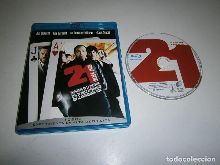 21 BLACK JACK BLU RAY KEVIN SPACEY (Cine - Películas - Blu-Ray Disc)