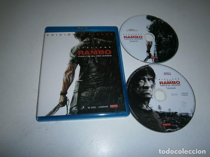 JOHN RAMBO VUELTA AL INFIERNO EDICION ESPECIAL DOS DISCOS BLU RAY + DVD STALLONE (Cine - Películas - Blu-Ray Disc)