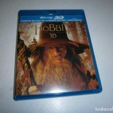 Cine: EL HOBBIT 3D UN VIAJE INESPERADO BLU RAY 2 BLU RAYS + 2 BLU RAYS 3D. Lote 268863654