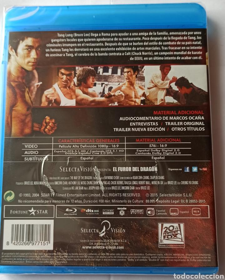 Cine: EL FUROR DEL DRAGÓN. - Foto 2 - 268909179