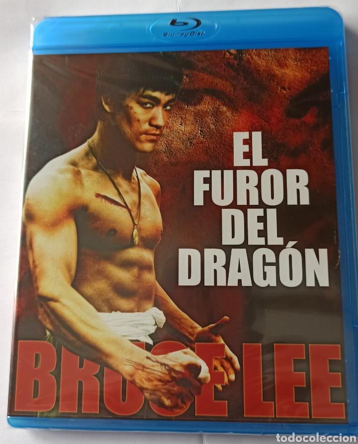 EL FUROR DEL DRAGÓN. (Cine - Películas - Blu-Ray Disc)