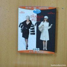 Cine: EL DIABLO VISTE DE PRADA - BLURAY + DVD. Lote 269061528