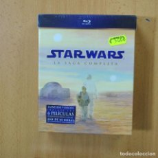 Cine: STAR WARS - LA SAGA COMPLETA - BLURAY. Lote 269061593