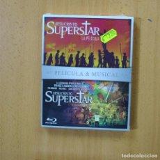 Cine: JESUCRISTO SUPERSTAR LA PELICULA / JESUCRISTO SUPERSTAR TOUR EN DIRECTO - BLURAY. Lote 269061608