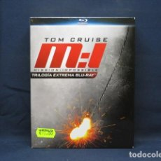 Cine: MISSION IMPOSSIBLE - BLY RAY TRILOGIA EXTREMA. Lote 269075128