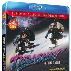 Cinéma: THRASHIN, PATINAR O MORIR (JOSH BROLIN, ROBERT RUSLER, PAMELA GIDLEY) - BLURAY NUEVO Y PRECINTADO. Lote 269355423