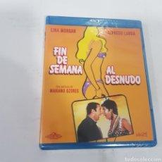 Cinéma: REF, 14156 FIN DE SEMANA AL DESNUDO -BLURAY NUEVO PRECINTADO. Lote 269628768