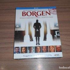 Cine: BORGEN TEMPORADA 1 COMPLETA 2 BLU-RAY DISC 580 MIN. NUEVO PRECINTADO. Lote 269630283