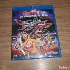 Cine: PIRAÑA II LOS VAMPIROS DEL MAR BLU-RAY DISC TERROR NUEVO PRECINTADO. Lote 269631048