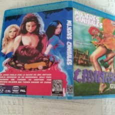 Cine: MUJERES CANIBALES IVAN REITMAN EUGENE LEVY ANDREA MARTIN BLURAY DISC ORIGINAL BD-R. Lote 269942228