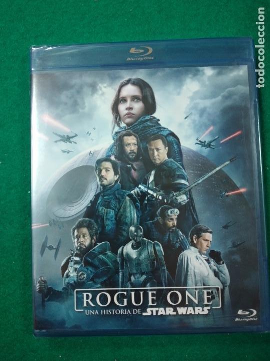 ROGUE ONE. UNA HISTORIA DE STAR WARS. BLU-RAY DISC. PRECINTADO. (Cine - Películas - Blu-Ray Disc)