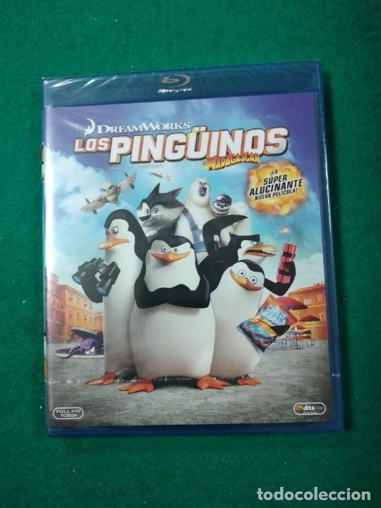 LOS PINGUINOS DE MADAGASCAR. BLU-RAY DISC. PRECINTADO. (Cine - Películas - Blu-Ray Disc)