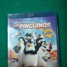 Cine: LOS PINGUINOS DE MADAGASCAR. BLU-RAY DISC. PRECINTADO.. Lote 270104608