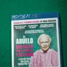 Cine: EL ABUELO QUE SALTO POR LA VENTANA Y SE LARGO. BLU-RAY DISC PRECINTADO.. Lote 270104863