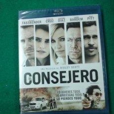 Cine: EL CONSEJERO. MICHAEL FASSBEENDER - PENELOPE CRUZ - CAMERON DIAZ.... BLU-RAY DISC PRECINTADO.. Lote 270105778
