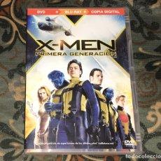 Cine: X-MEN PRIMERA GENERACION DVD Y BLU-RAY NUEVO. Lote 271943383