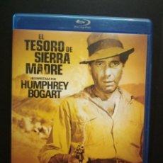 Cine: EL TESORO DE SIERRA MADRE BLU-RAY DISC HUMPHREY BOGART SIN USO PEPETO. Lote 272287588