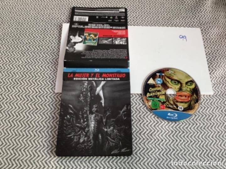 LA MUJER Y EL MONSTRUO EDICIÓN LIMITADA. BLURAY STEELBOOK (Cine - Películas - Blu-Ray Disc)