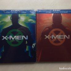 Cine: X-MEN TRILOGY VOL. 1 Y 2 BLU-RAY STEELBOOK NUEVOS. Lote 275145258