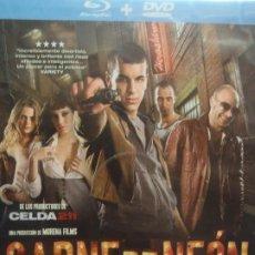 Cine: CARNE DE NEON - DVD MAS BLU-RAY - DOS DISCOS. Lote 275767103