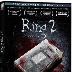 Cine: THE RING 2 - COMBO PRECINTADO BLURAY + DVD + LIBRO - UNICO EN TODOCOLECCION. Lote 275885298