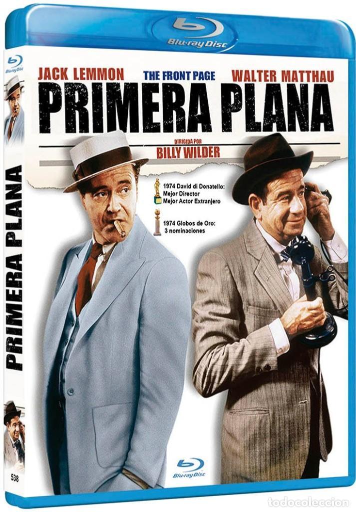 PRIMERA PLANA (JACK LEMMON, WALTER MATTHAU) - BLURAY NUEVO Y PRECINTADO (Cine - Películas - Blu-Ray Disc)