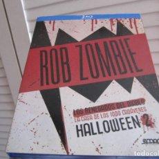 Cinéma: PACK ROB ZOMBIE (RENEGADOS DEL DIABLO+CASA 1000 CADAVERES+HALLOWEEN 2)DE CULTO-DESCATALOGADO. Lote 277030198